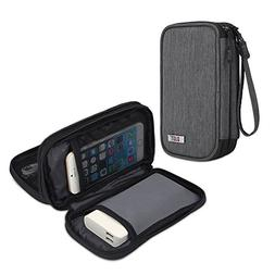 BUBM Travel Electronics Organizer, Carrying Pouch for Power