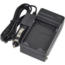 ENEL14 Battery Charger AC/DC Single for Nikon EN-EL14A ENEL1