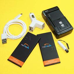 2X 3500mAh Extra Rechargeable Battery Universal Dock Wall N