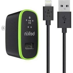Belkin Apple Certified MIXIT Home Charger with 4-Foot Lightn