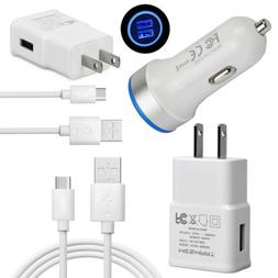Fast Cell Phone Wall Car Charger Cable for Samsung Galaxy S1