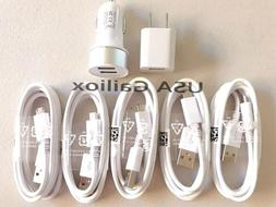 fast charging set wall charger car charger