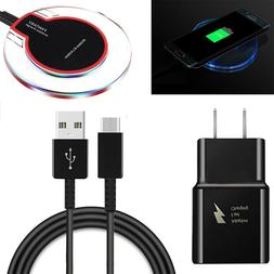 Fast QI Wireless Charger Wall AC Cable for LG G7 ThinQ G6 V3