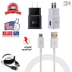 Fast Rapid Wall Charger Charging Cable Cord For Samsung Gala