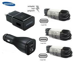 Fast Wall Charger Car Charger Type-C Cable For Samsung Galax