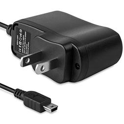 Fosmon Garmin Nuvi AC Wall Adapter Charger for Mini USB Port