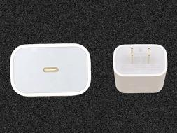 GENUINE APPLE 18w USB-C Fast Charge Wall Charger For iPhone