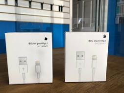 Genuine OEM Apple iPhone X 8 7 6S plus Lightning USB Cable W