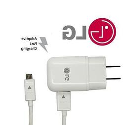 Genuine Quick Charge 2.0 USA White Travel Fast Charger Adapt