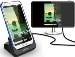 KiDiGi HDMI COVER-MATE CHARGER CRADLE AC USB WALL DOCK FOR S