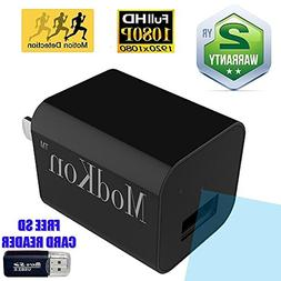Mini Hidden Camera Wall Charger Mini Spy Camera - 1080P Secu