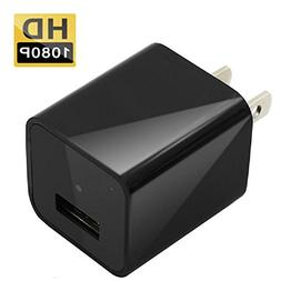 Hidden Camera USB Wall Charger Spy Camera Full HD 1080P Moti