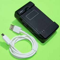 High Quality Travel Home Desktop USB/AC Charger With Micro D