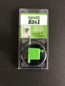 iChargerlock - The ONLY Apple iPhone Charger & Cord Lock-No
