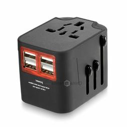 Unidapt Universal Travel Power Adapter, European Adapter, Fa
