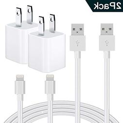 Phone Charger, MFi Certified Phone Charger Cable, Travel Wal