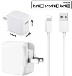 IPHONE Charger Cables & Wall Cube For iPhones 7 ,8, xs, XS M
