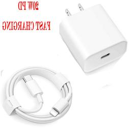 iPhone charger Fast USB cable & wall cube for IPHONE 6 7 8 P