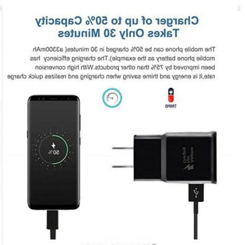 Adaptive Fast Charger USB Android Samsung Galaxy S8 S7 Note
