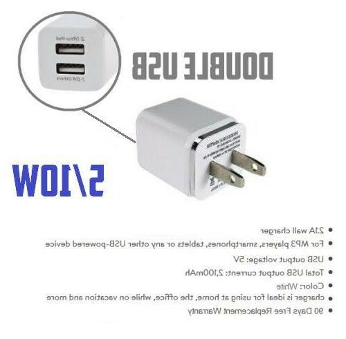 10ft Long 8 Pin USB for Cube Wall Charger