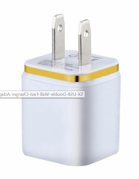10x Double Fast Charger 2A 5V For Android/Galaxy/iPhone/LG