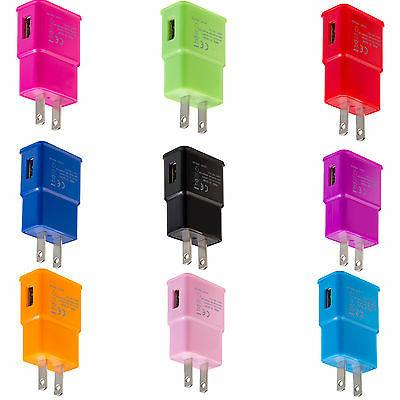 2.0 Amp AC USB Wall Charger Adapter For Samsung Galaxy S5 S4