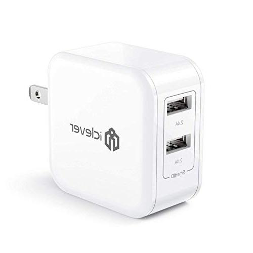 24w 4 8a dual usb wall charger