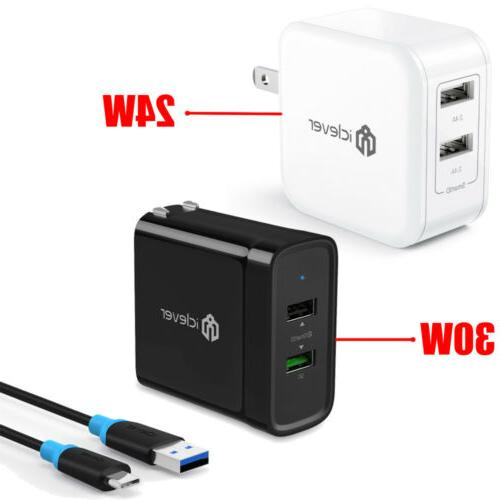 24w smartid wall charger 30w fast quick