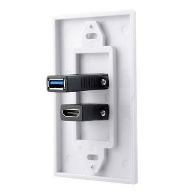 2x Wall Plate Video Wall Face Panel