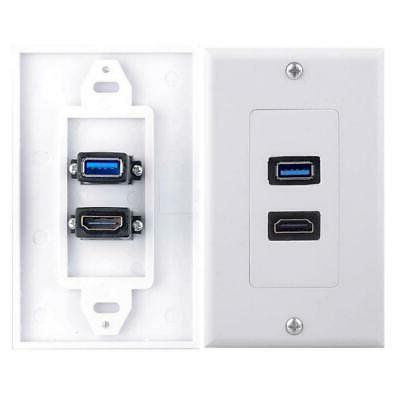 2x Wall Charger Plate Video Wall Panel