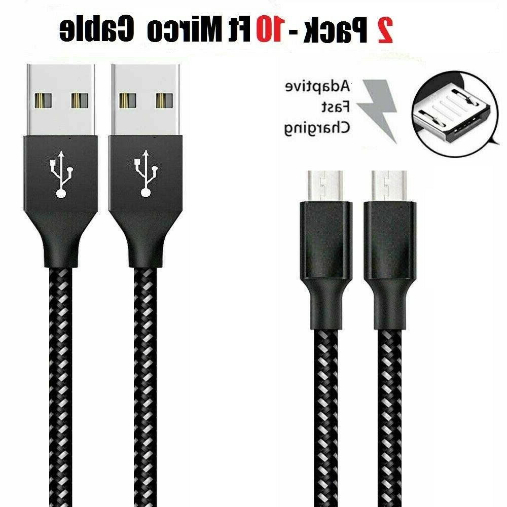 3/6/10Ft USB Fast Charger Cord HTC Android