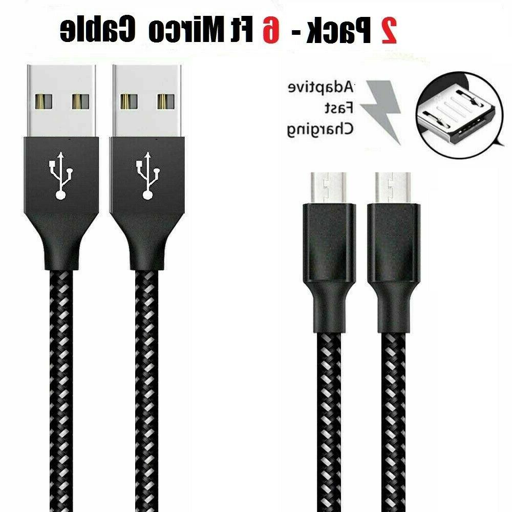 3/6/10Ft Charger Sync Cable Android