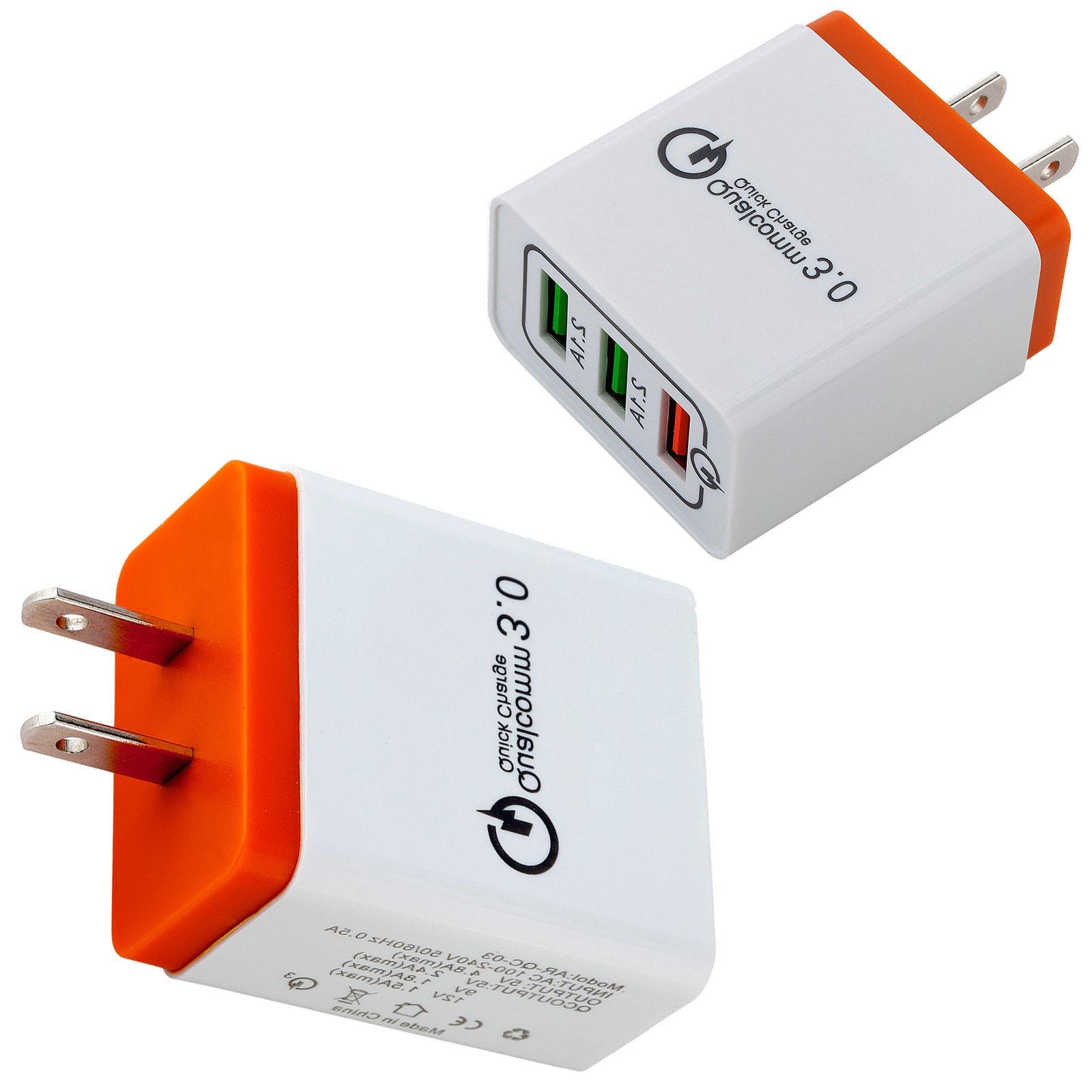 30W USB Charger Quick Charge iPhone Samsung