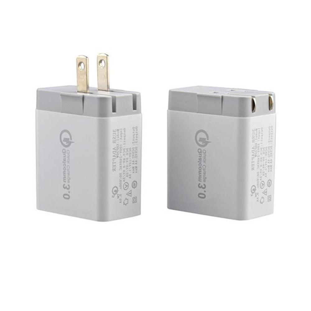 30W 3-Port USB Charger Quick Charge iPhone