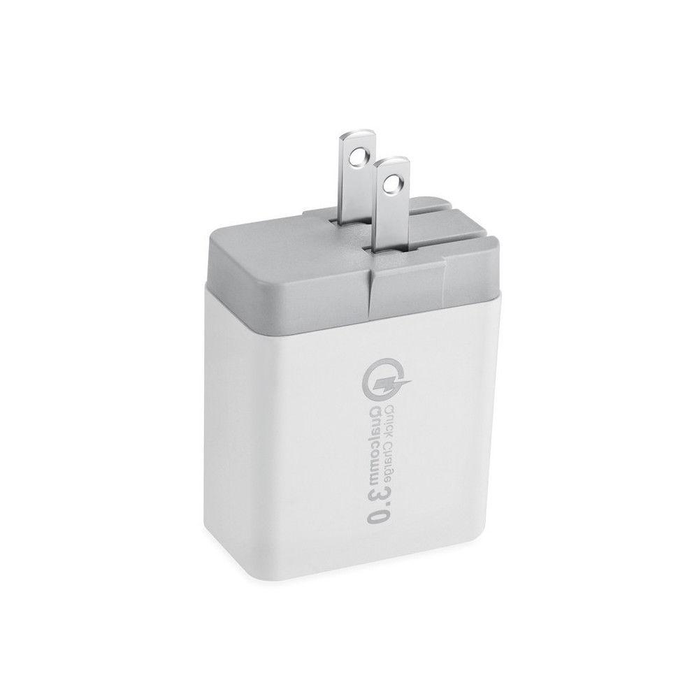 30W USB Wall Charger Dual Quick Charge 3.0 Ports For iPhone