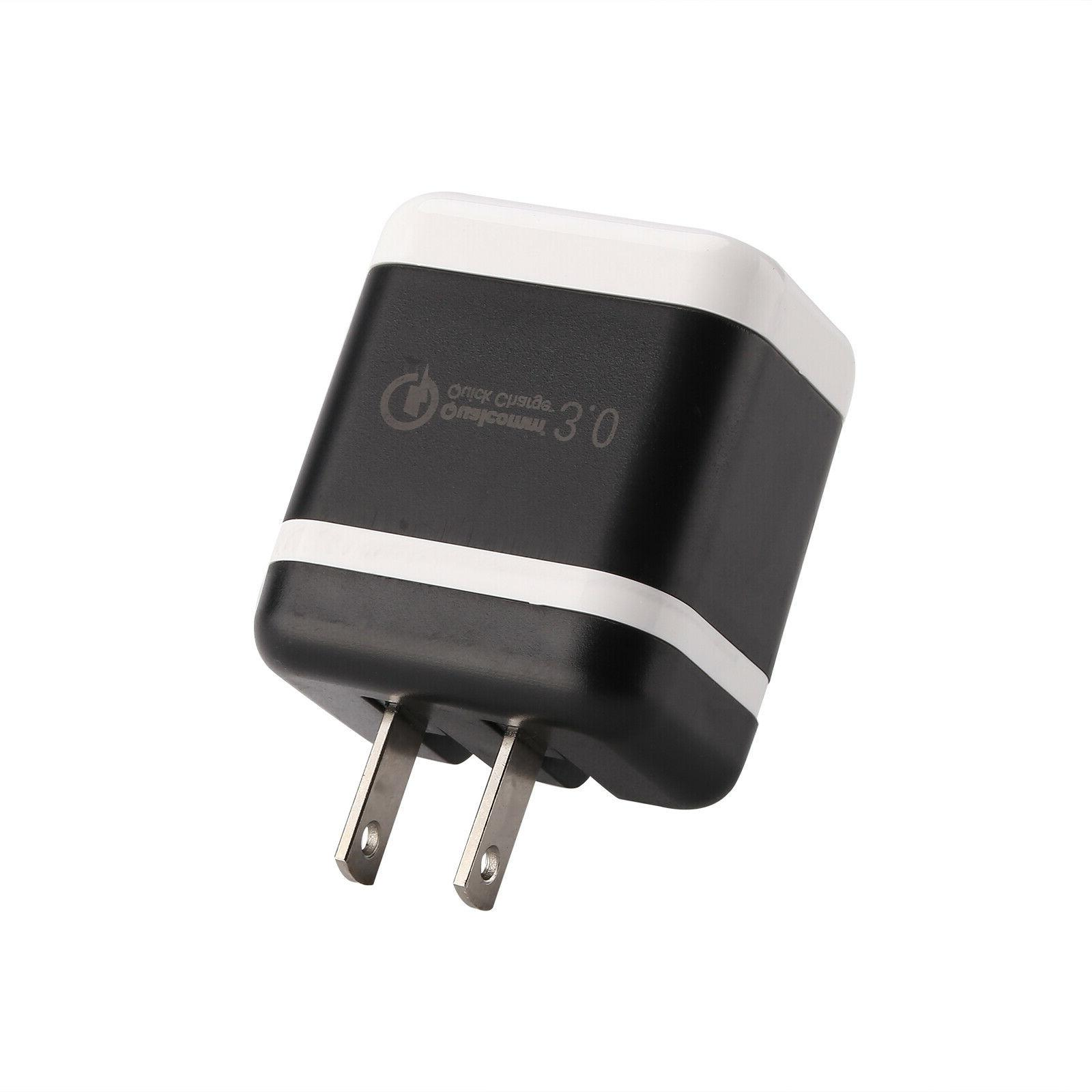 30W Fast Quick QC Charger Adapter US Plug For