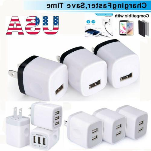 2/3x Wall Charging Cube Universal