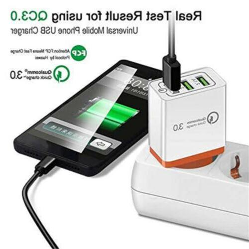 3Port Charge QC 3.0 Hub Charger Adapter