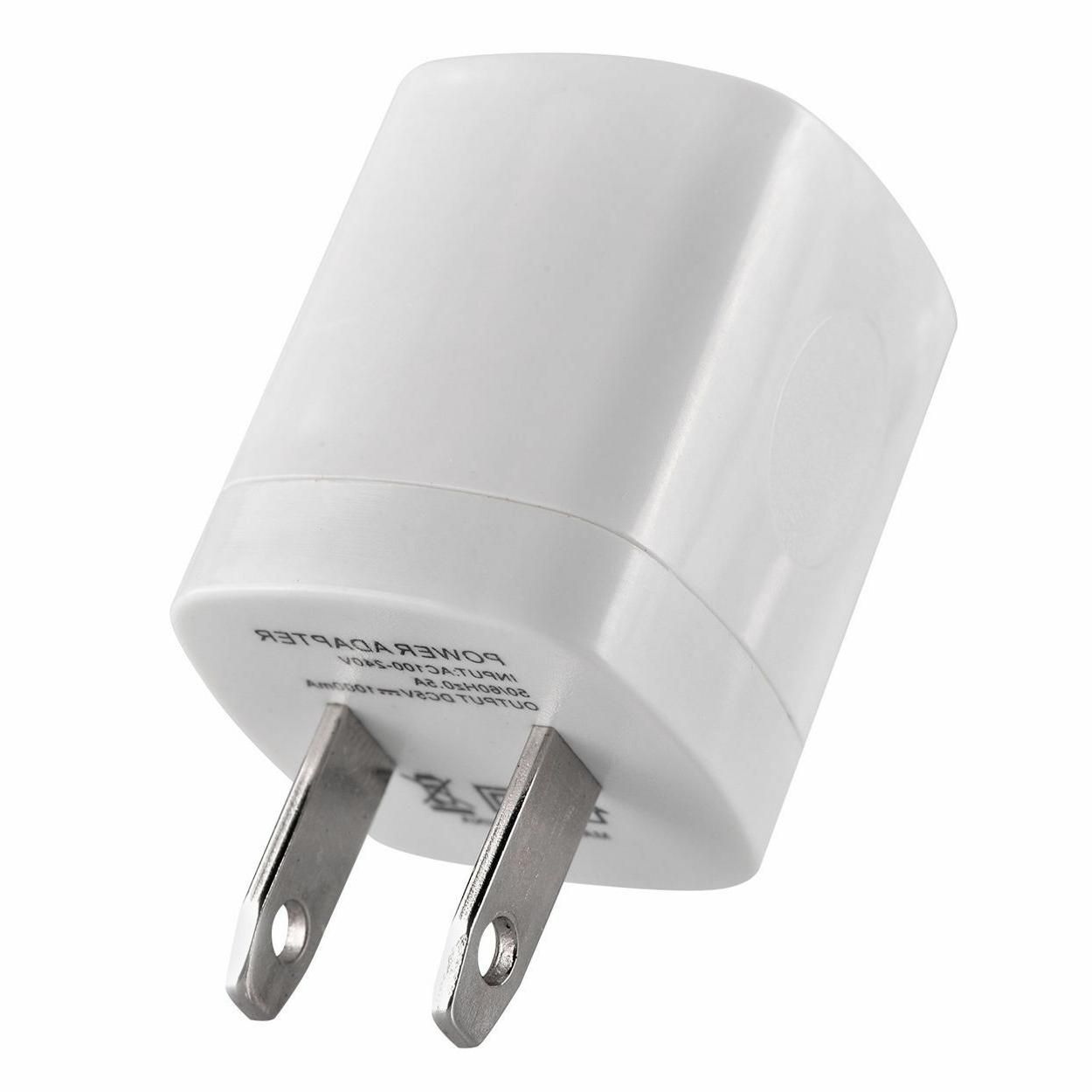 3x Wall Charger Power Adapter AC US Plug For iPhone Samsung