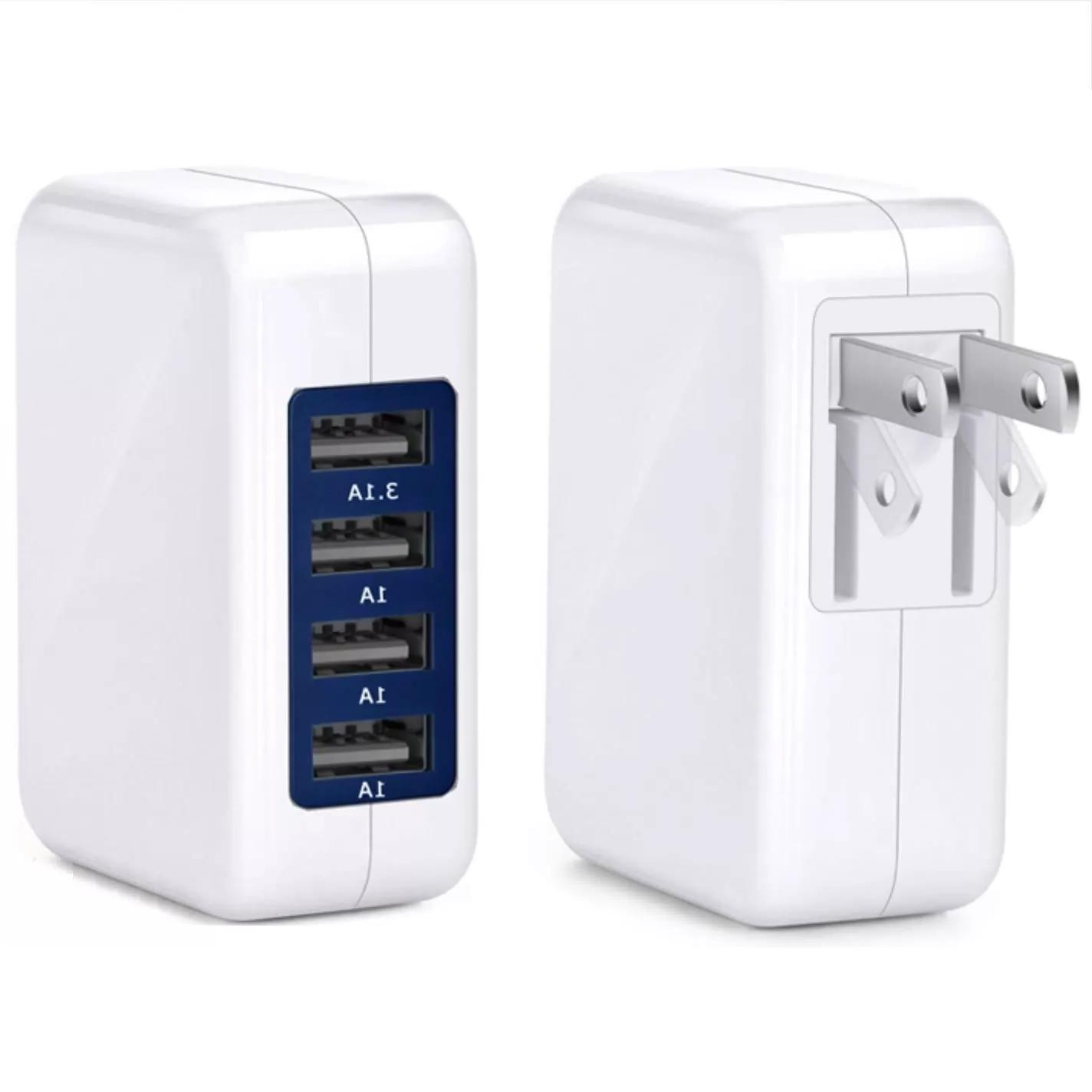 4 Port USB Charger Speed Charger Adapter Premium