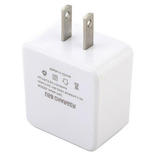 4 Charger Power Adapter for iPad Samsung LG Android