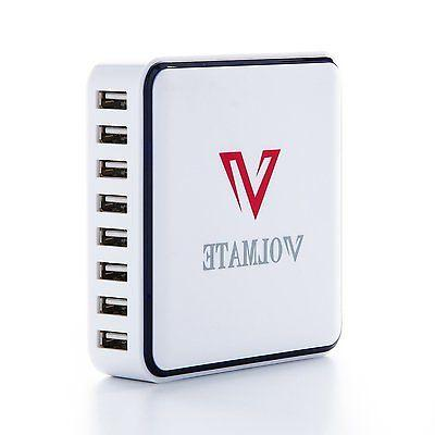 60W 8 Family-Size Rapid Quick Charger