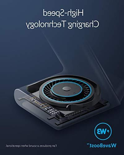 Anker Internal Cooling Fan, 7.5W Max/XR/XS/X/8/8 Plus, Charges Galaxy S9/S9+/S8
