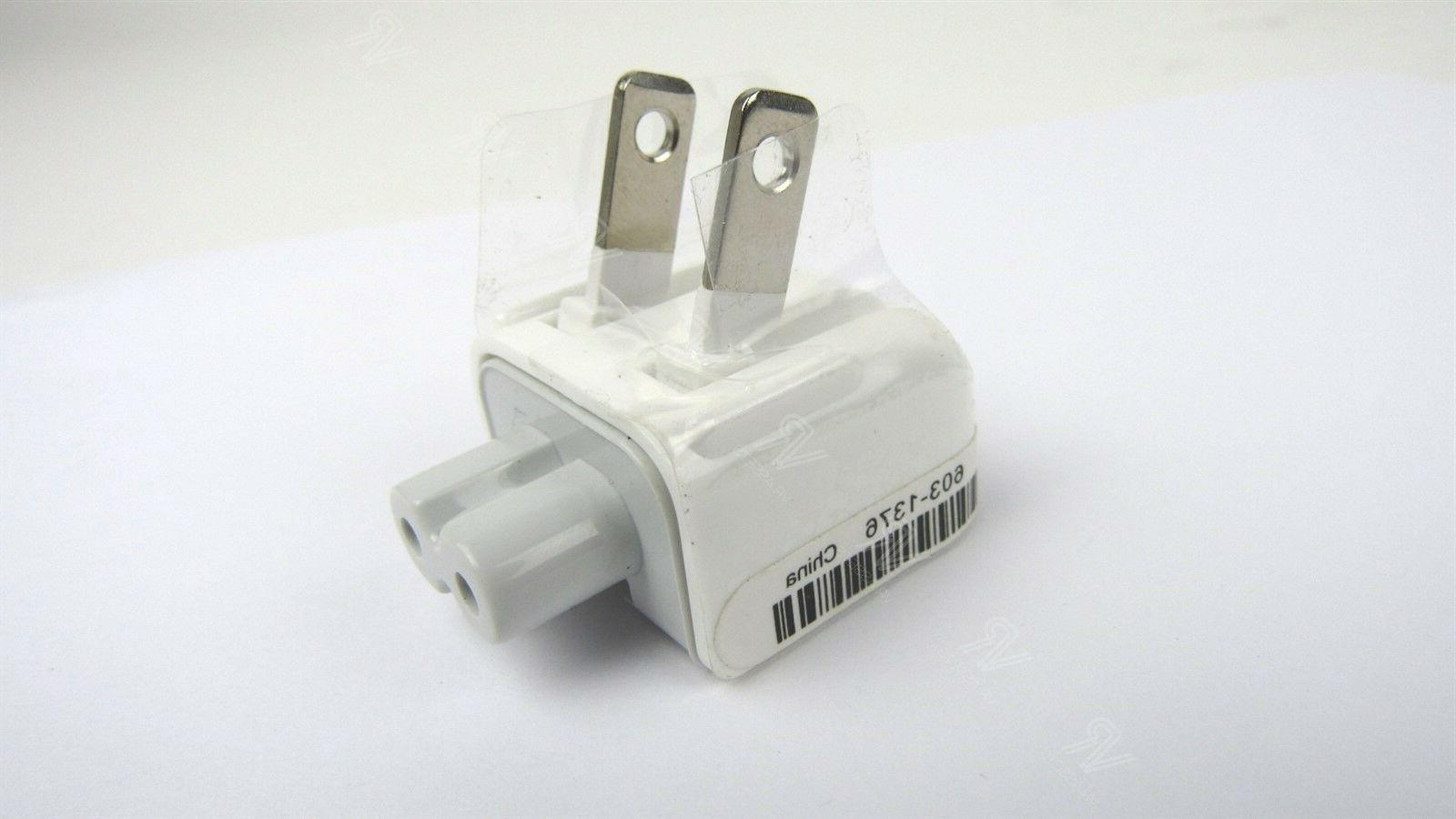 Apple Duck-Head Wall Plug Charger Adapter iPad Mac MacBook P