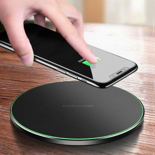 Fast Wireless Charger Cable Galaxy S9 S10 Note 9 S8