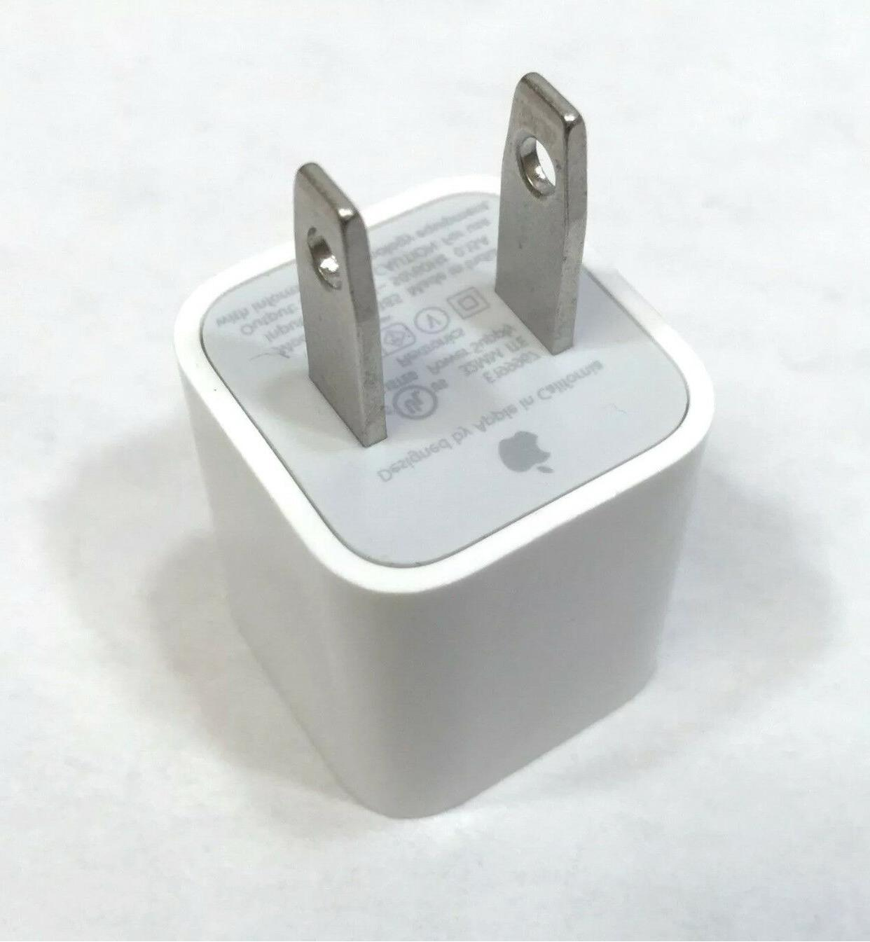 IPhone Charger 5W USB Power Wall Plug Cube