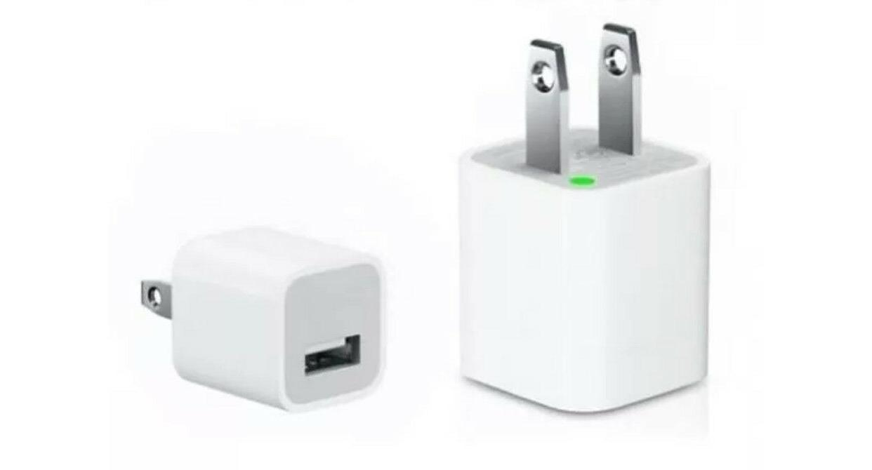 IPhone Charger 5W Power Adapter Wall Plug Cube Original