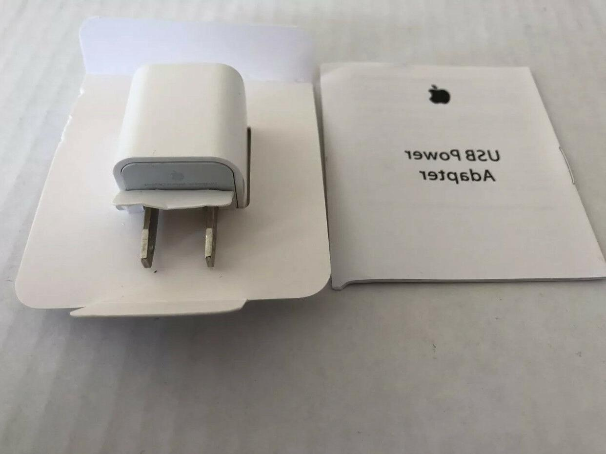 IPhone Charger 5W USB Power Adapter Wall Plug Cube Original