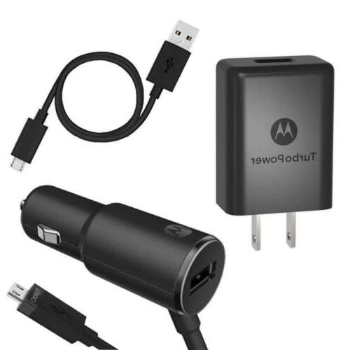Motorola TurboPower Micro-USB Essentials Bundle: 25 Car Char