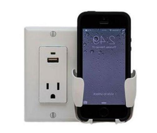 NEW CELL PHONE CHARGING STATION DOCK USB IPHONE SMARTPHONE B